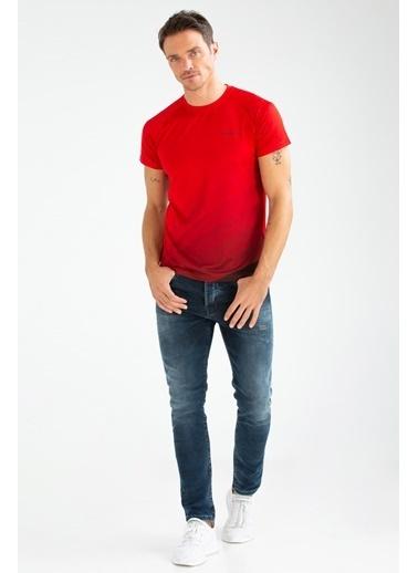 Speedlife Splash Erkek Tişört Kırmızı